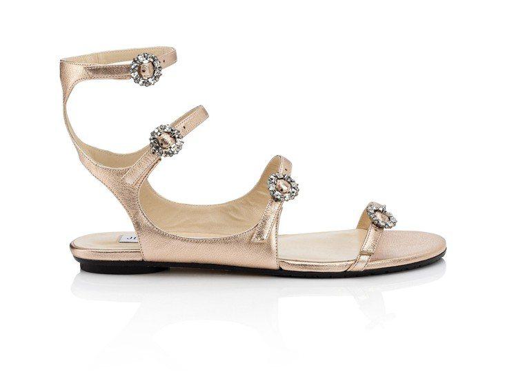 春夏系列涼鞋,28,800元。圖/Jimmy Choo提供