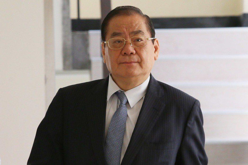 曾永權分別在2012年2月及2015年的2月,兩度出任過總統府秘書長。 圖/聯合...