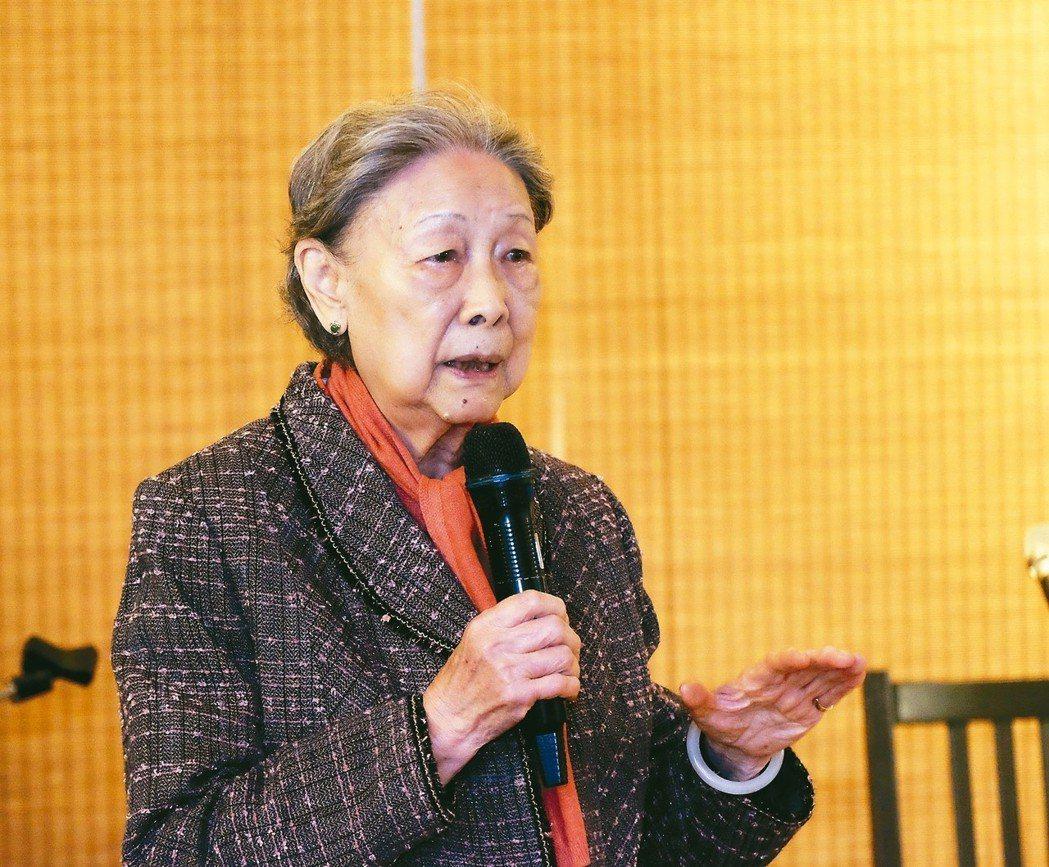 余光中夫人范我存 圖/台北市文化局