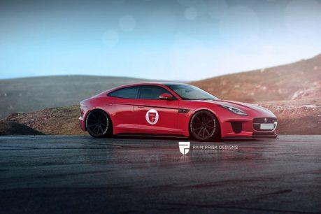 Jaguar也要生產4-Door Coupe? 設計師:我們才是原創