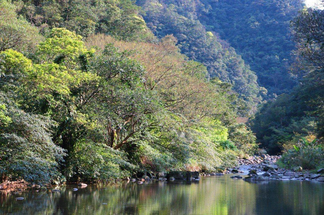丁蘭谷是天公伯留下的自然寶庫,也是一個美麗山谷,卻成了雙溪水庫建設的預定地。 圖...
