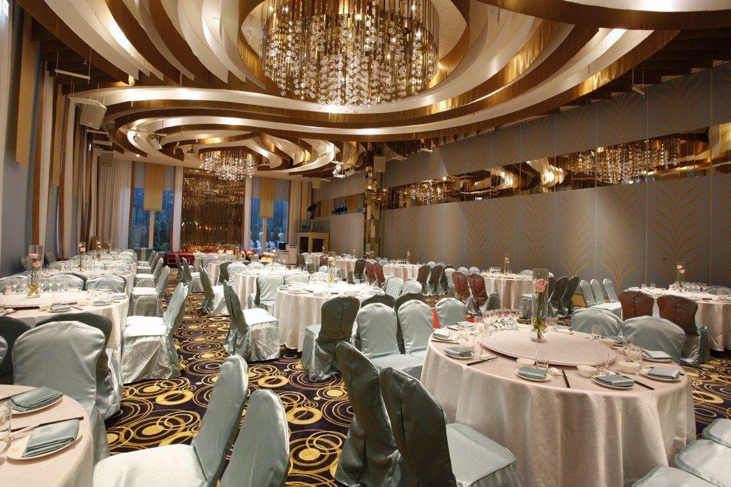 高質感場廳與服務是舉辦謝師宴的首選。晶宴會館/提供