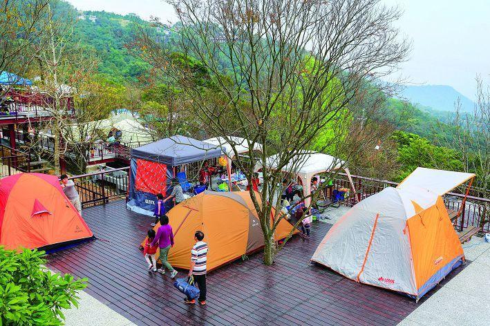 整修完成的碧山露營場,設施相當新穎完善。(攝影/楊智仁)