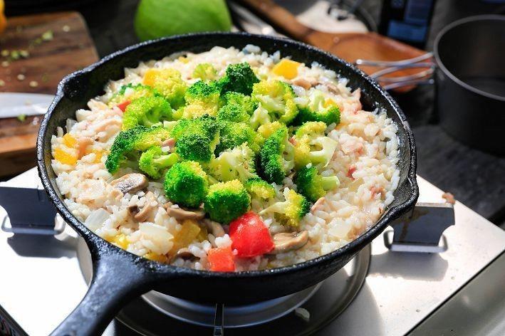 鮮蔬培根燉飯(攝影/楊智仁)