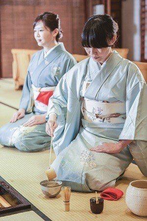 日式茶道講究細節步驟並注重個人修身靜心。(攝影/梁忠賢)