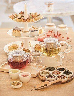 精緻美味的英式午茶,讓人不禁食指大動。(攝影/梁忠賢)