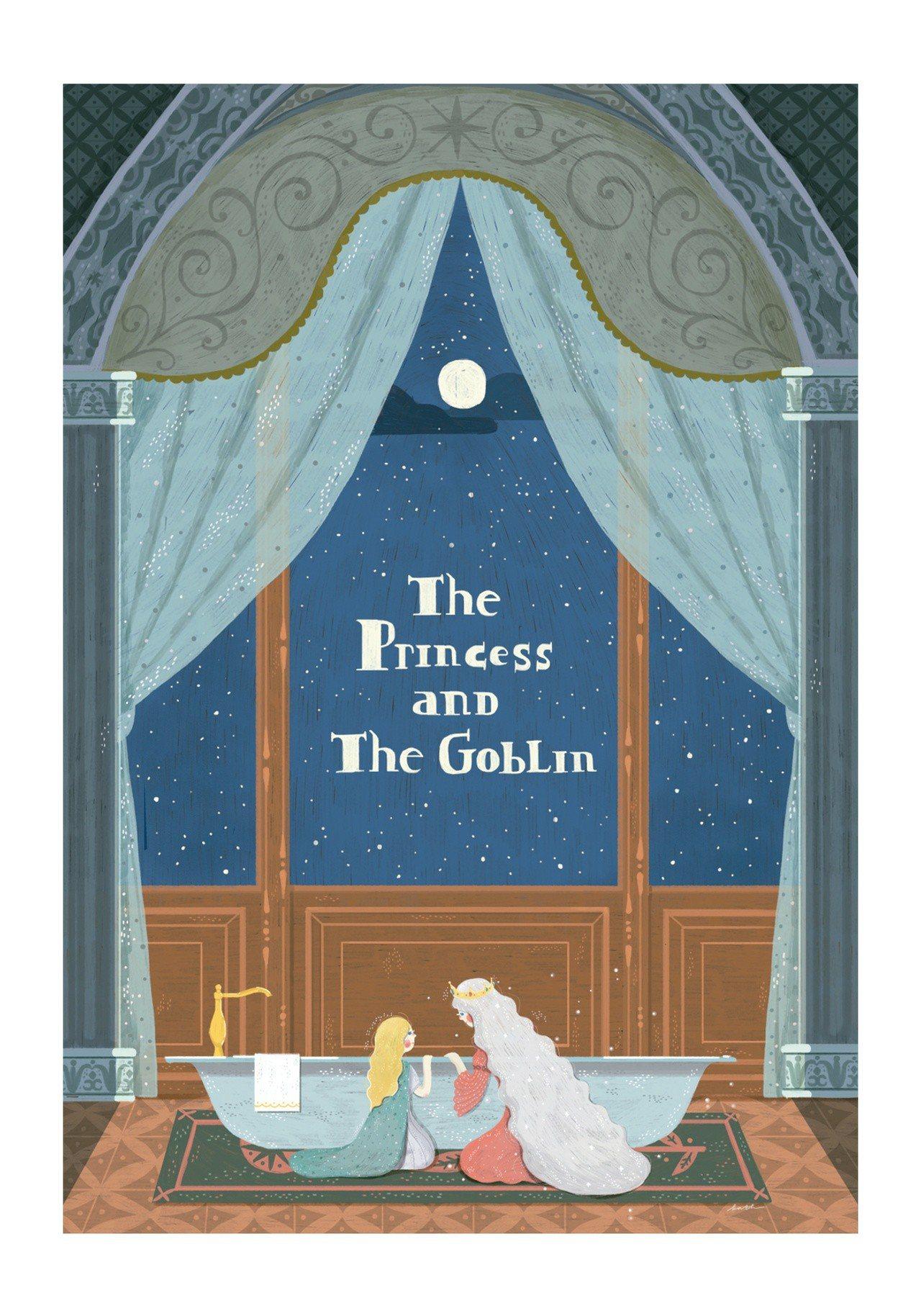 印尼籍設計師 Gin Kathrin Honesta的作品「公主與哥布林The ...