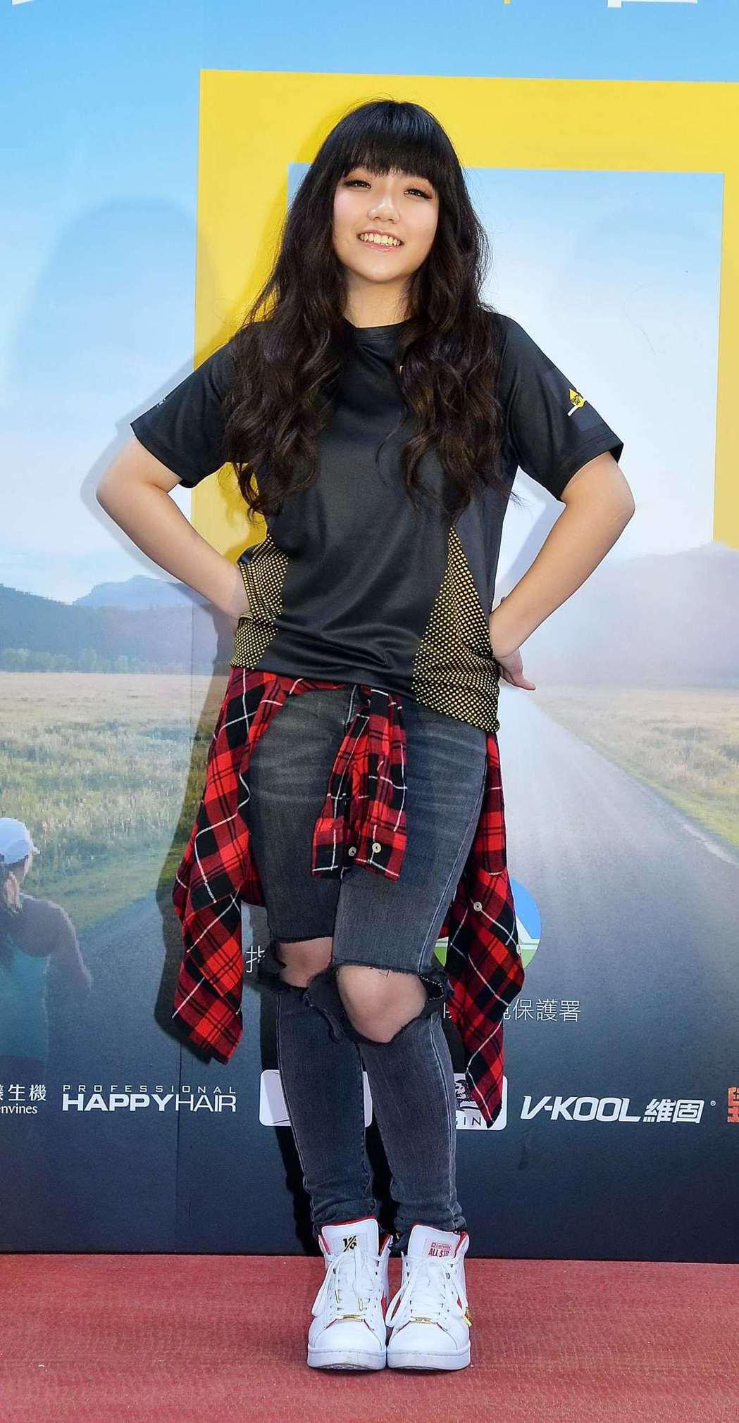 安那將在「2018世界地球日路跑 減塑運動」帶來歌舞表演。圖/國家地理頻道提供