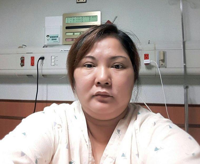 李小姐產後胖到87公斤,晚上睡覺常呼吸中止。圖/高雄長庚醫院提供