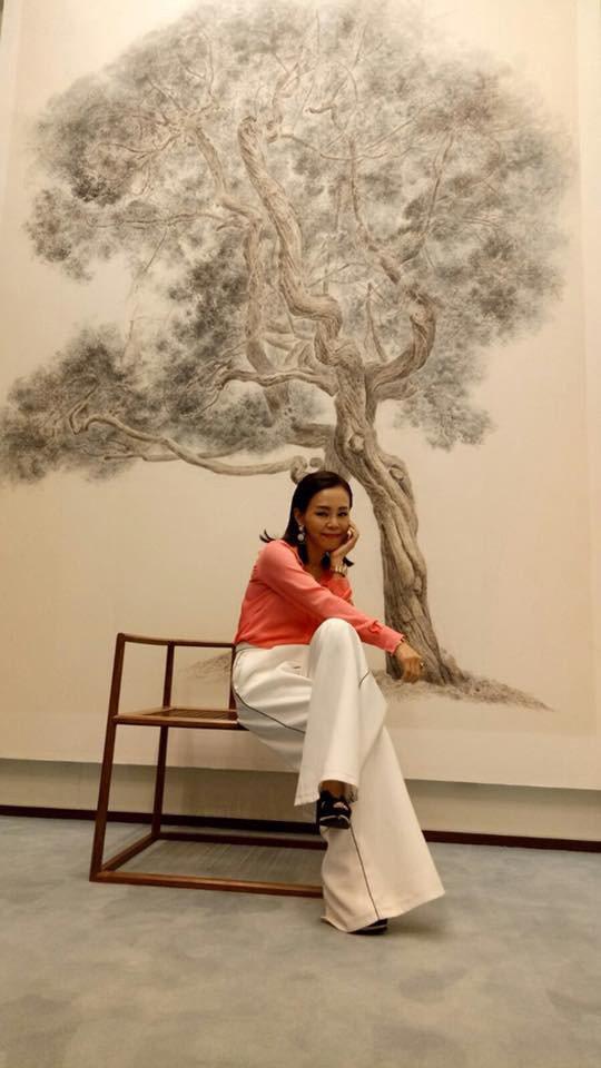 彭佳慧飛往北京擔任演奏家吳牧野加盟索尼音樂記者會嘉賓。圖/索尼音樂提供