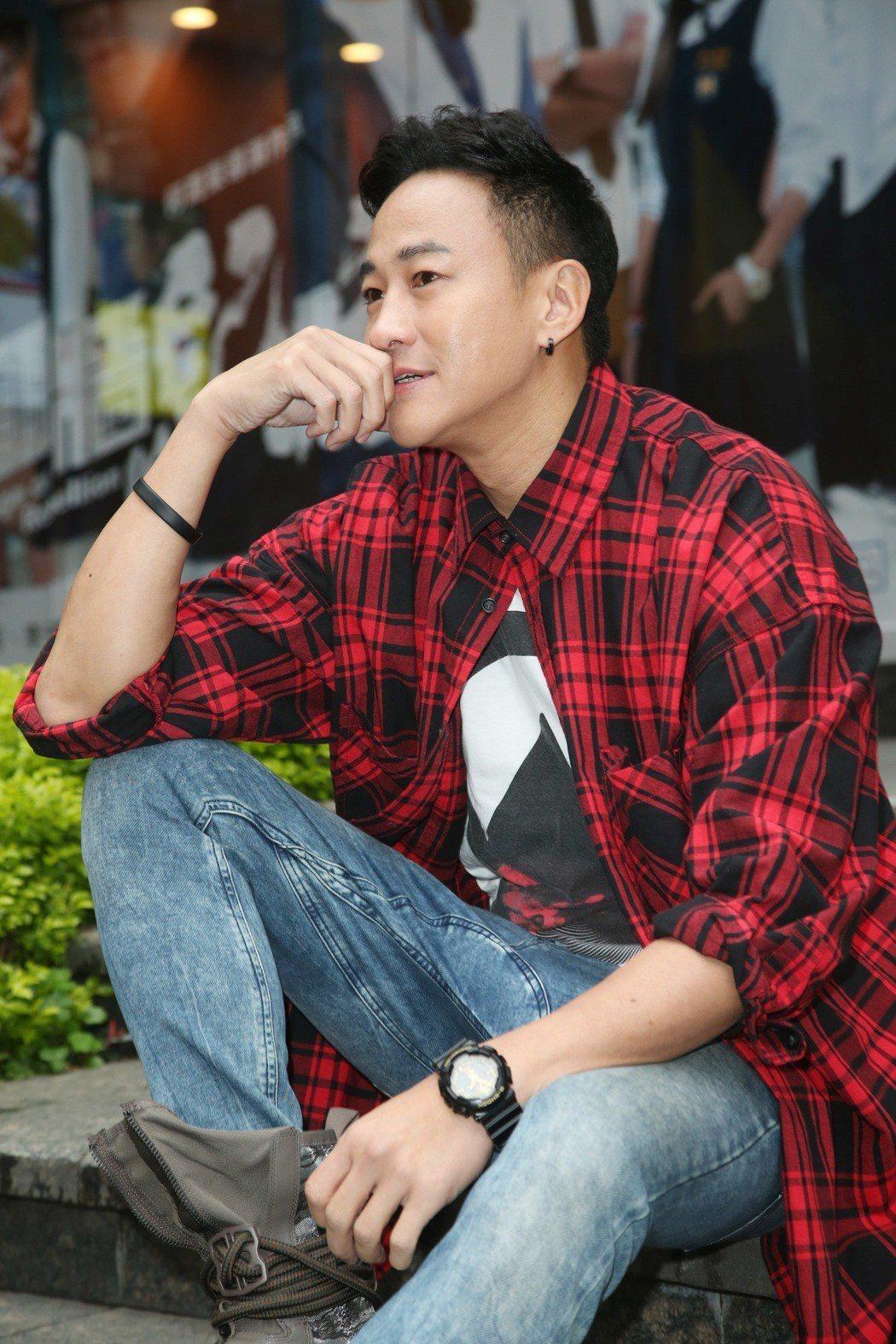 何潤東執導「翻牆的記憶」。記者陳瑞源/攝影