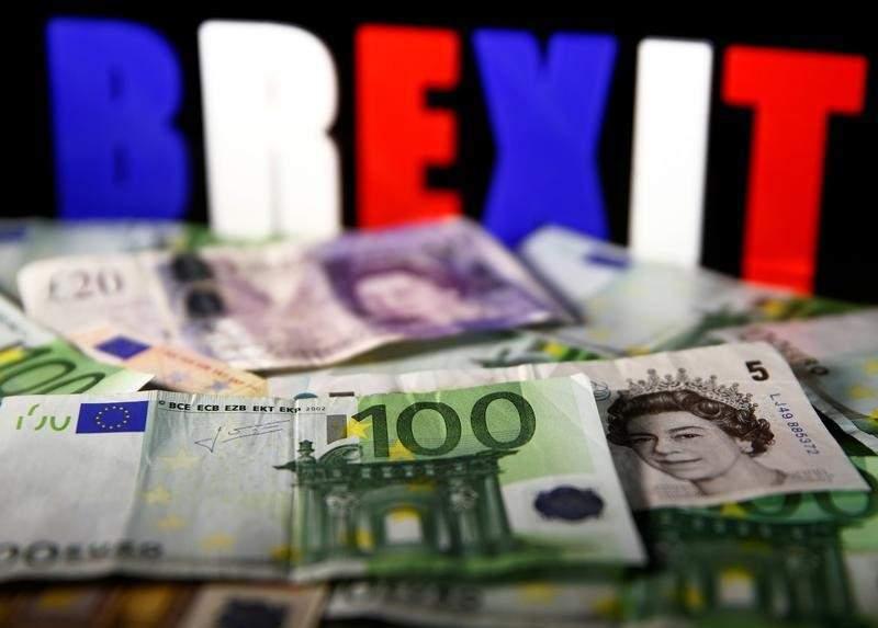 英國與歐盟今達脫歐過渡協議。路透