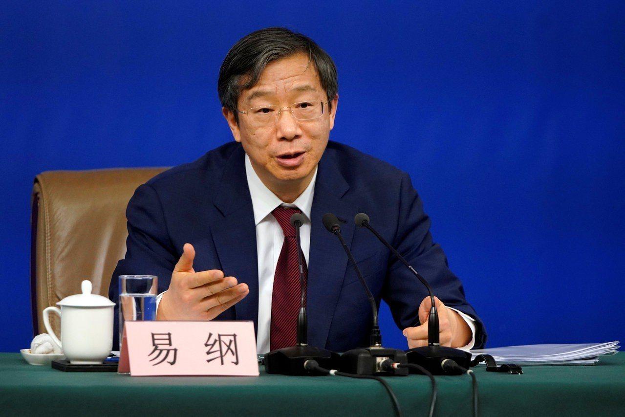 中國大陸人行(央行)新任行長,由原來的副行長易綱升任。(路透)