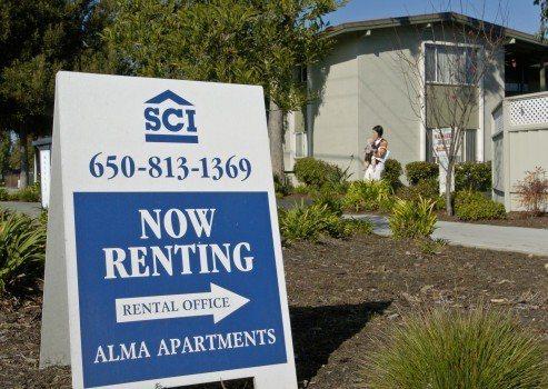 租金高漲也是逼走加州人的原因之一。 美聯社