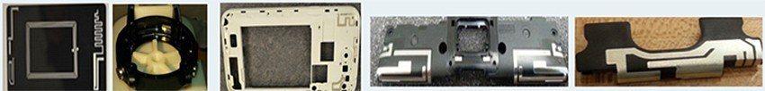直接噴印式列印機能將天線電路打印到標準3D射出模基板上。 德芮達科技/提供
