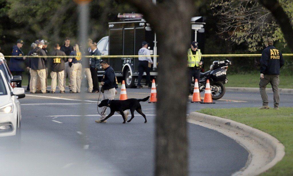 「連環炸彈客」在美國德州奧斯汀(Austin)連續犯下四起爆炸案件,導致當地民眾...
