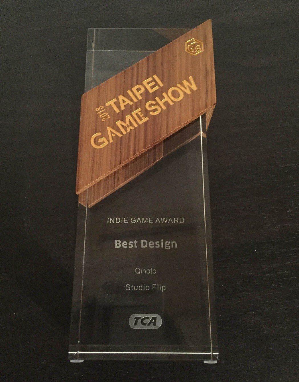 (2018台北國際電玩展「India Game Award」最佳遊戲設計獎)