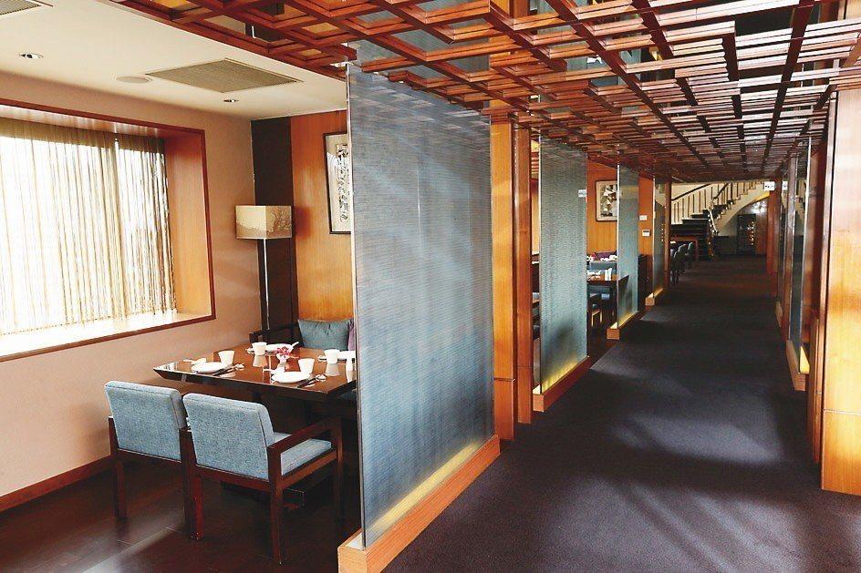 台北喜來登請客樓摘下米其林二星。本報系資料照/記者邱德祥攝影