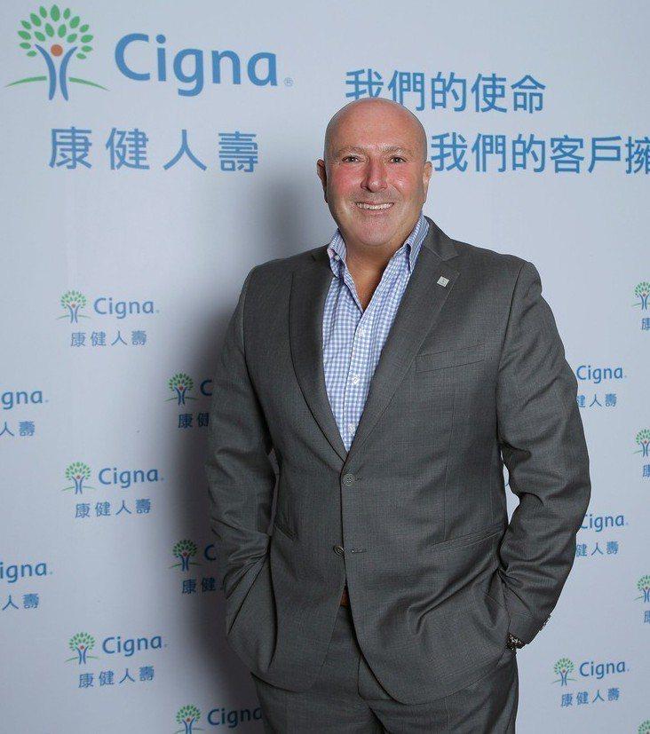 康健人壽總經理暨執行長邵駿崴宣示2018三大營運主軸。 康健人壽/提供