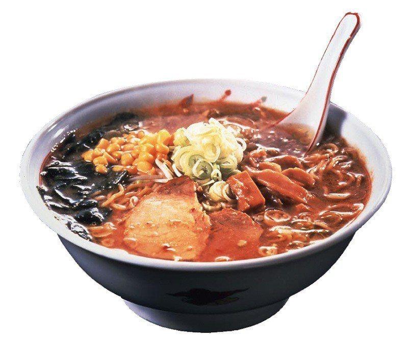西山製麵/熱香味噌拉麵350元/2入/特製的北海道QQ捲捲麵條,能夠將味噌湯頭的...