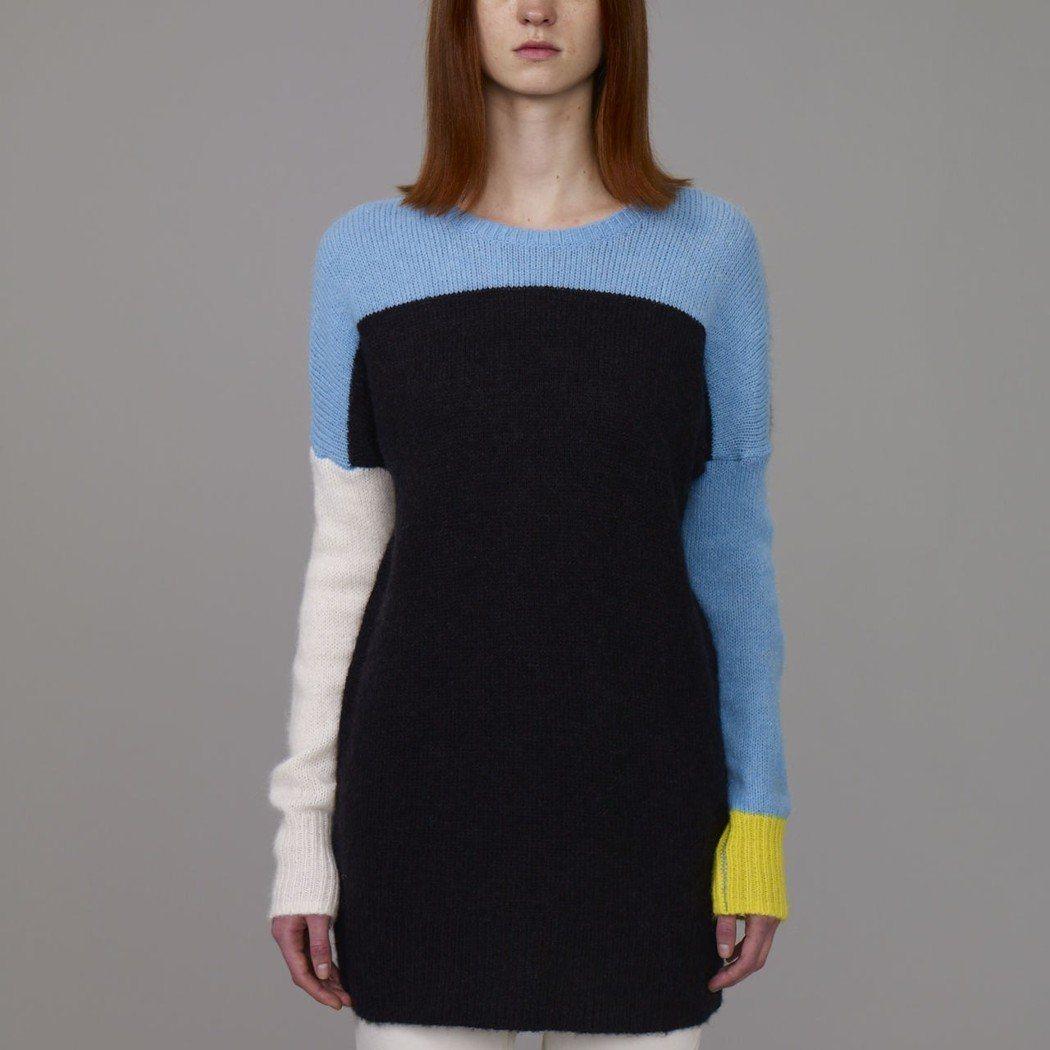 Kim Jones與GU合作系列的女裝針織衫。圖/GU提供