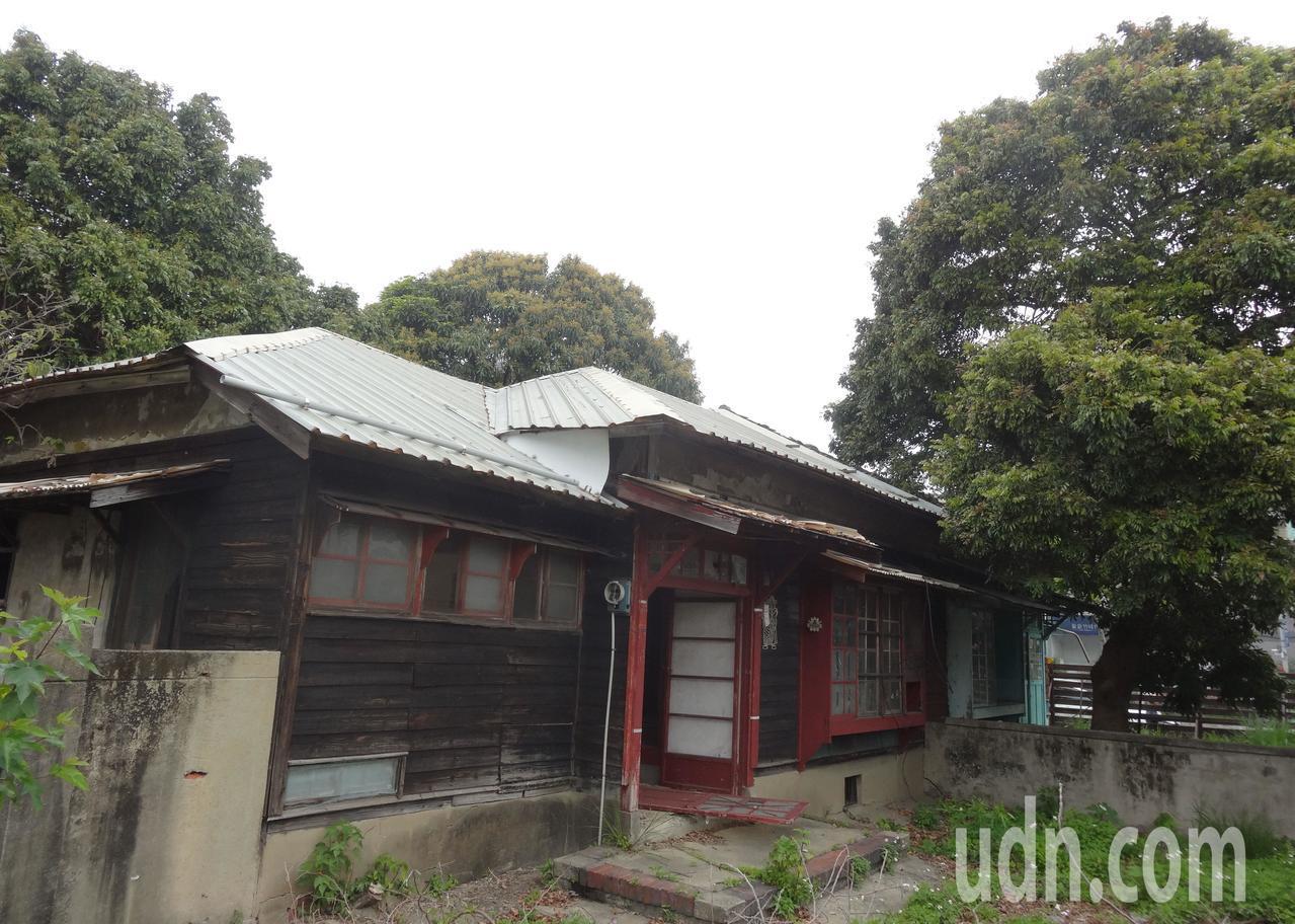 新竹市歷史建築「南大路警察宿舍」成功爭取中央經費補助,將投入4572萬元修復。記...