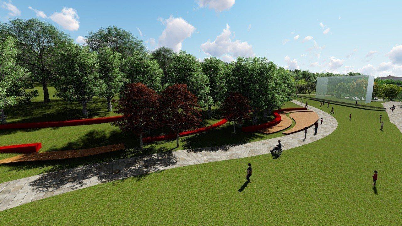 桃園市南崁都市計畫區公二公園今年下半年將進行第三期動工,由於當地過去曾為梯田,公...