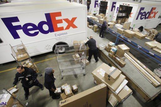德州FedEx輸送帶20日早上發生包裹爆炸事件。美聯社