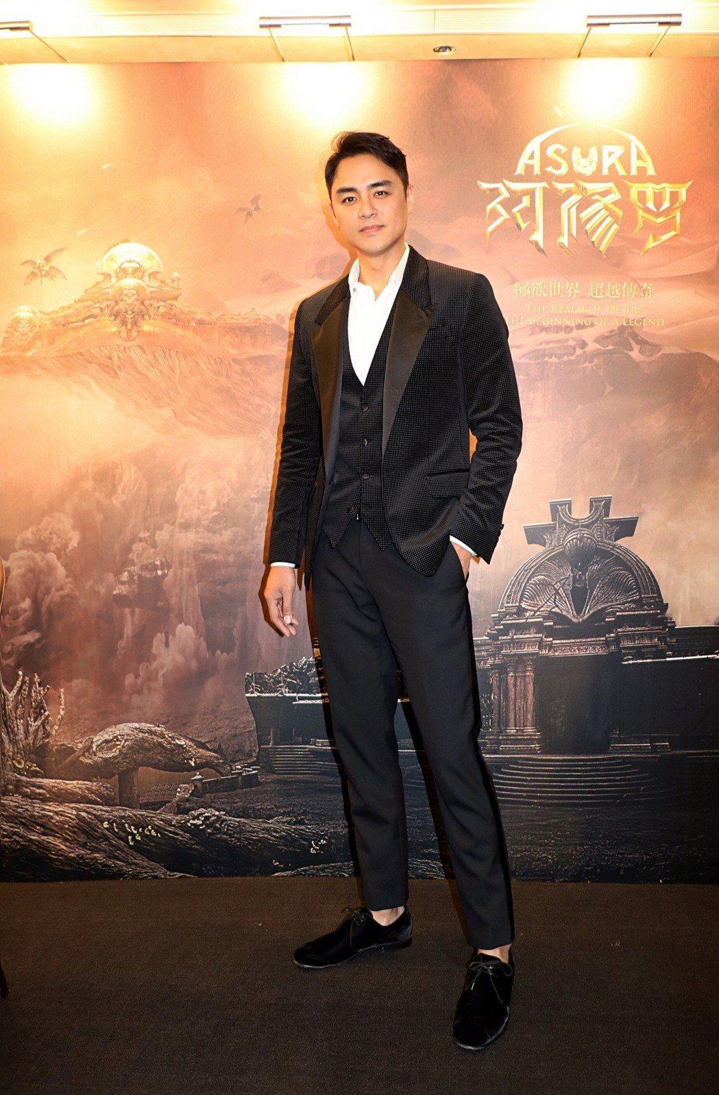 明道出席香港國際電影節。圖/明道工作室提供