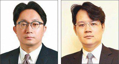 元大投信總經理劉宗聖(左),元大投信期貨信託部主管副總經理譚士屏(右)