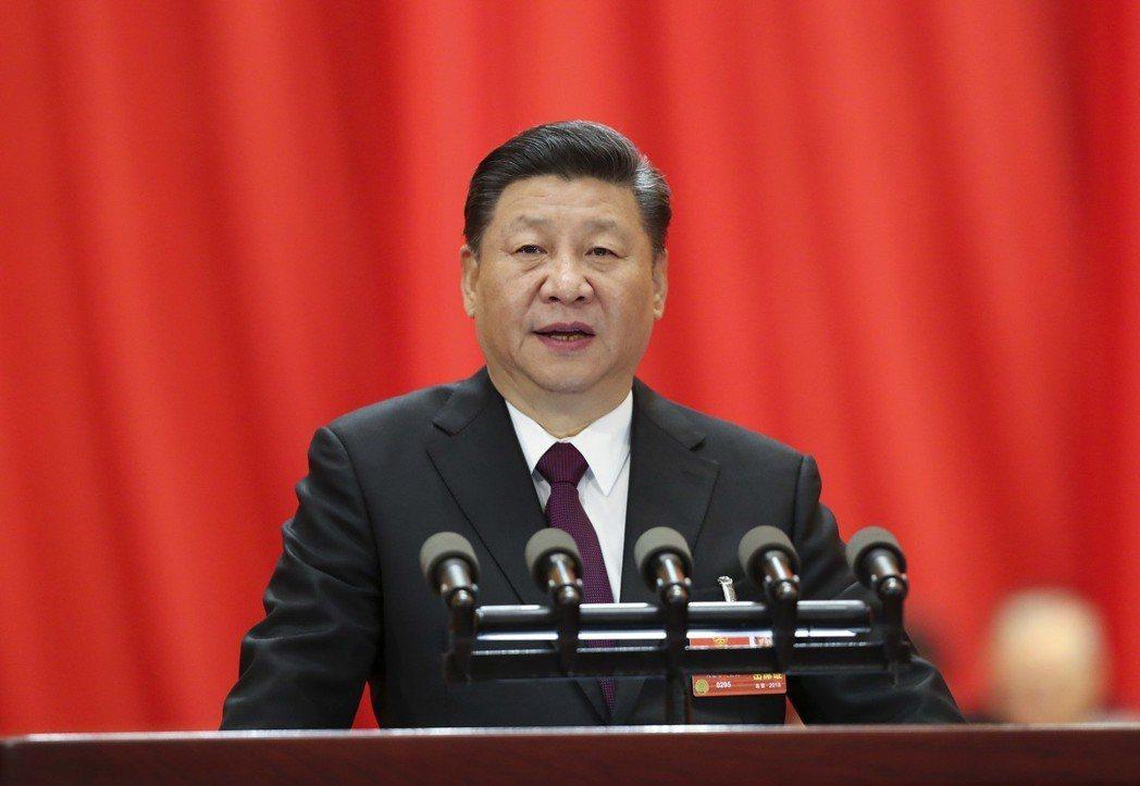 3月20日,十三屆全國人大一次會議在北京人民大會堂閉幕。中國國家主席習近平在閉幕...