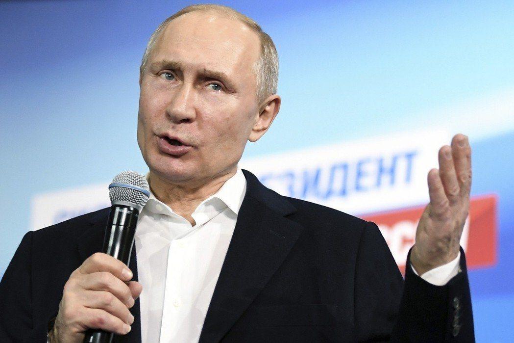 俄羅斯總統普亭贏得連任,美國總統川普在20日主動向記者表示,他已致電祝賀普亭連任...