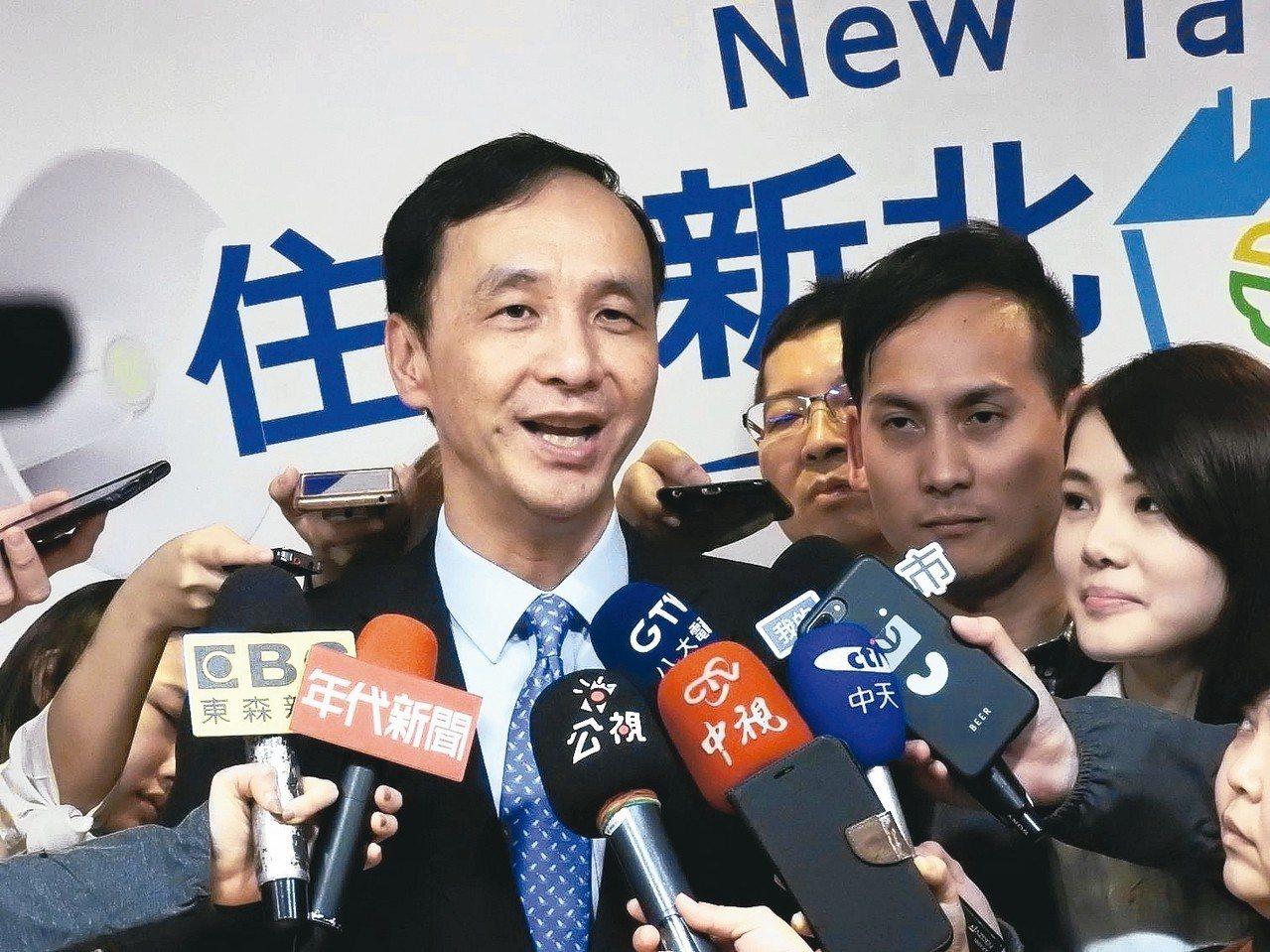 新北市長朱立倫今起率市府團隊訪問江蘇省、上海市,是否可能與更高層級大陸官方代表見...