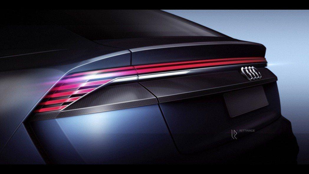 全新Audi Q8將在六月於上海發表。 摘自Audi