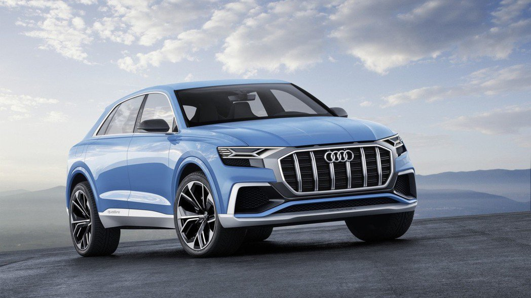 圖為Audi Q8 Concept。 摘自Audi