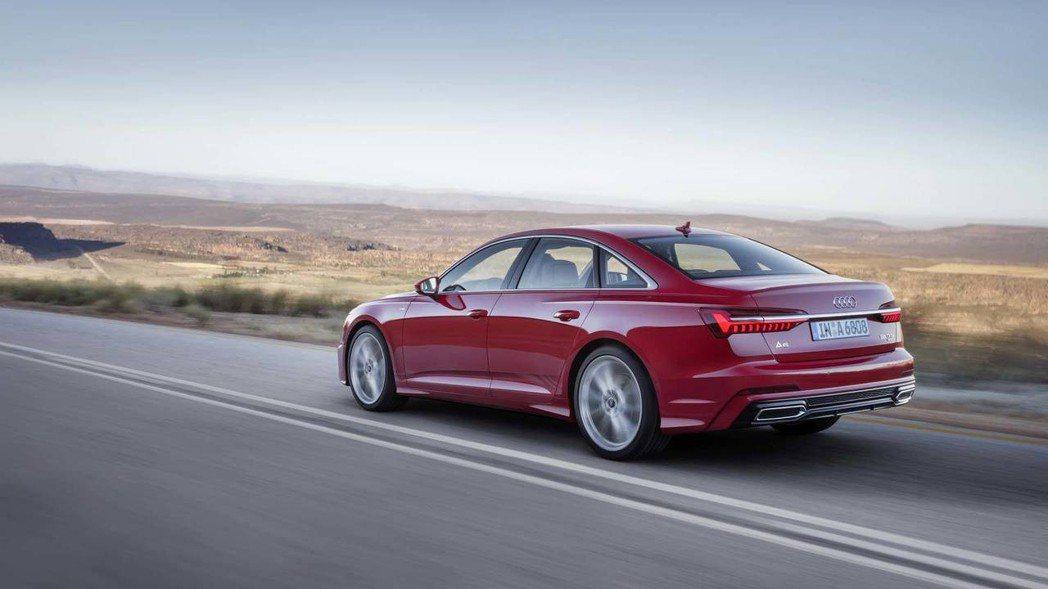 圖為全新Audi A6。 摘自Audi