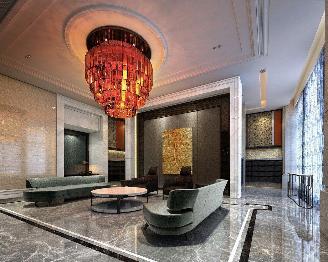 皇苑公設有如石材博物館。 圖片提供/張世雅