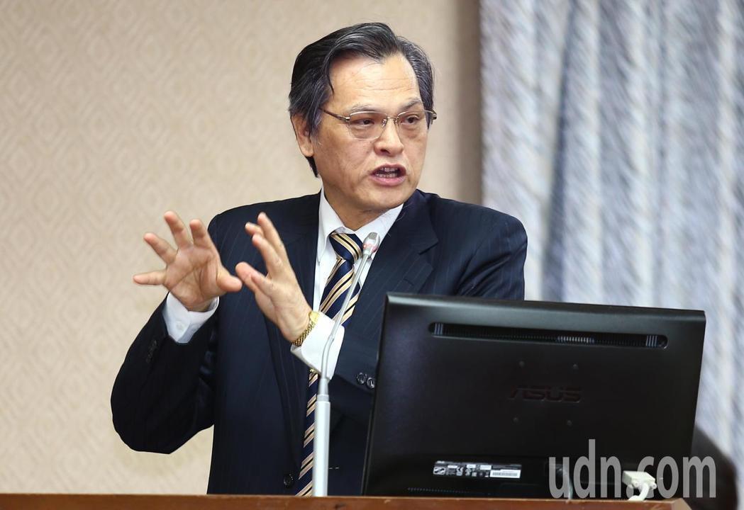 陸委會新任主委陳明通。記者曾學仁/攝影