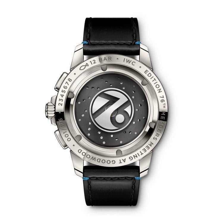 工程師運動計時腕表「第76屆古德伍德會員會議」特別版底蓋,鈦金屬表殼、自製計時機...