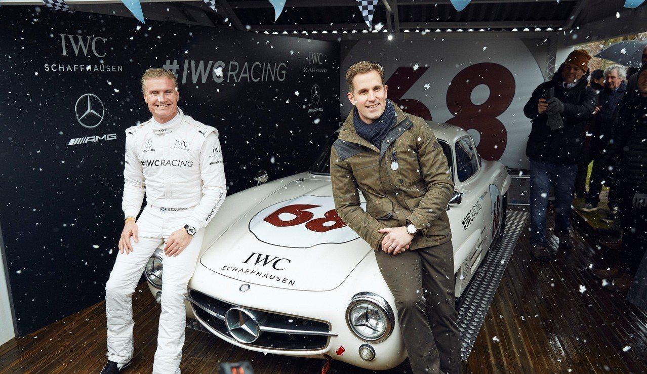 IWC於古德伍德會員會議中發表自有賽車車隊的成立。圖/萬國表提供