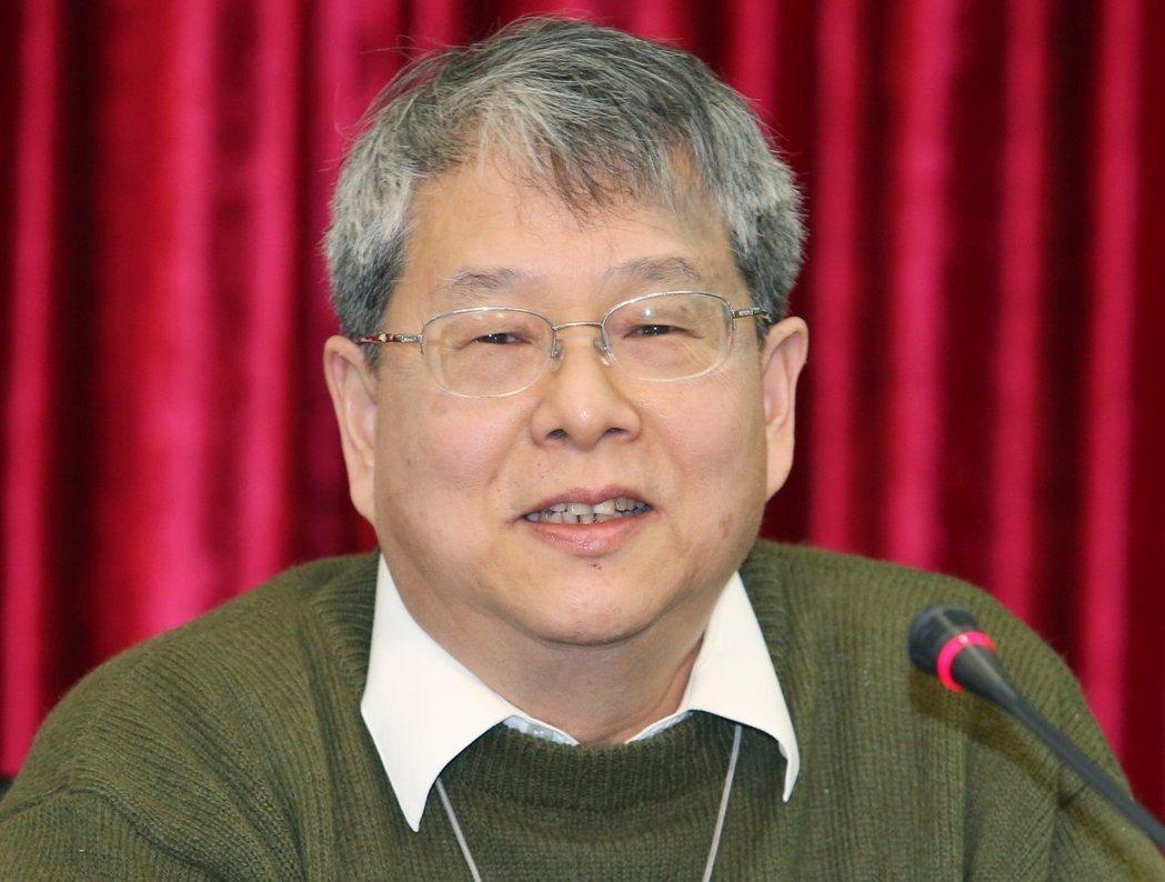 監察委員陳師孟。圖/聯合報系資料照片