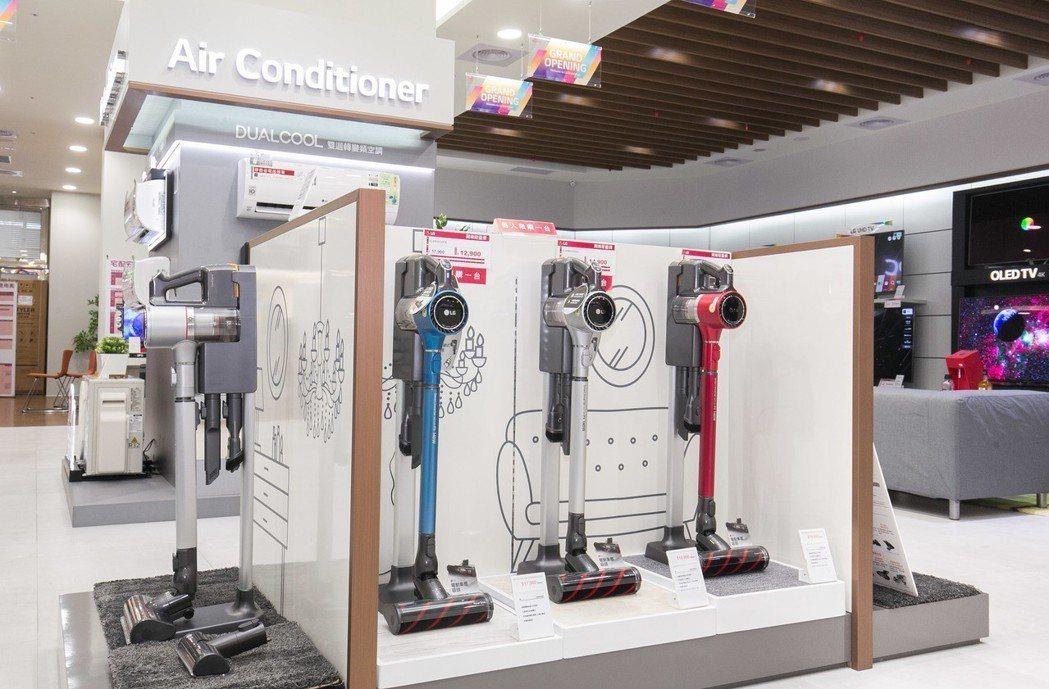 LG CordZero A9無線吸塵器,具備超強勁吸力以及超長效電力,還可換電池...