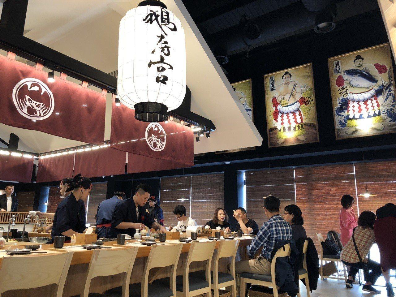 台中北屯一點利黃昏市場、賣鵝肉起家的小熟食攤「鵝房宮」,搶進高級日本料理市場,在...