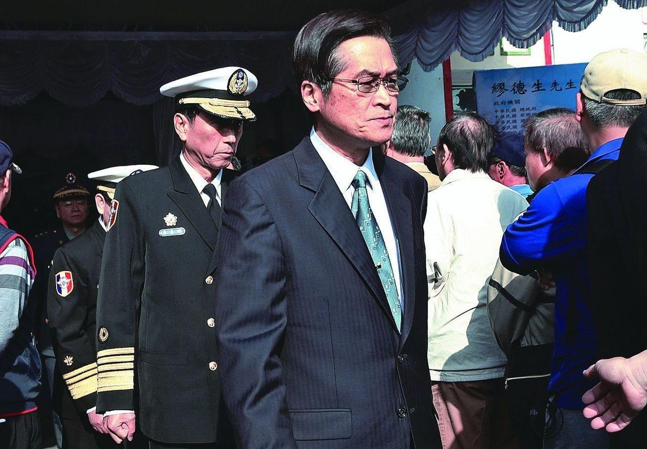 國防部長嚴德發。報系資料照 記者林俊良/攝影
