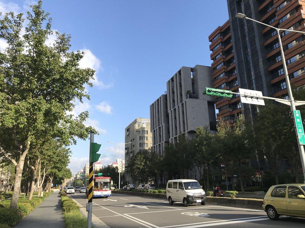 2017年台北市中高總價住宅交易熱區,中山區以占比19%位居第一。 記者游智文/...
