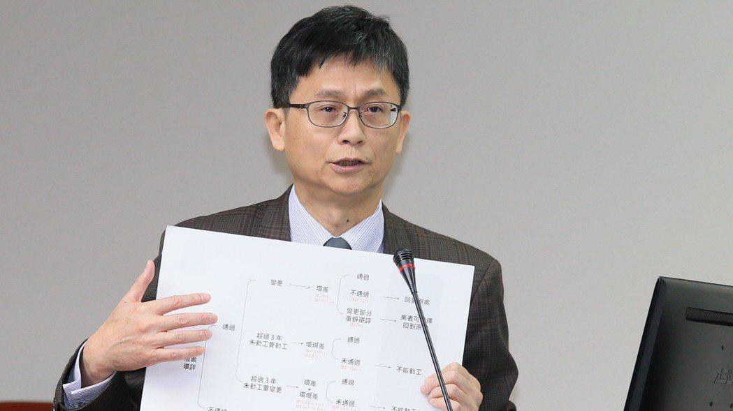 環保署副署長詹順貴。 報系資料照
