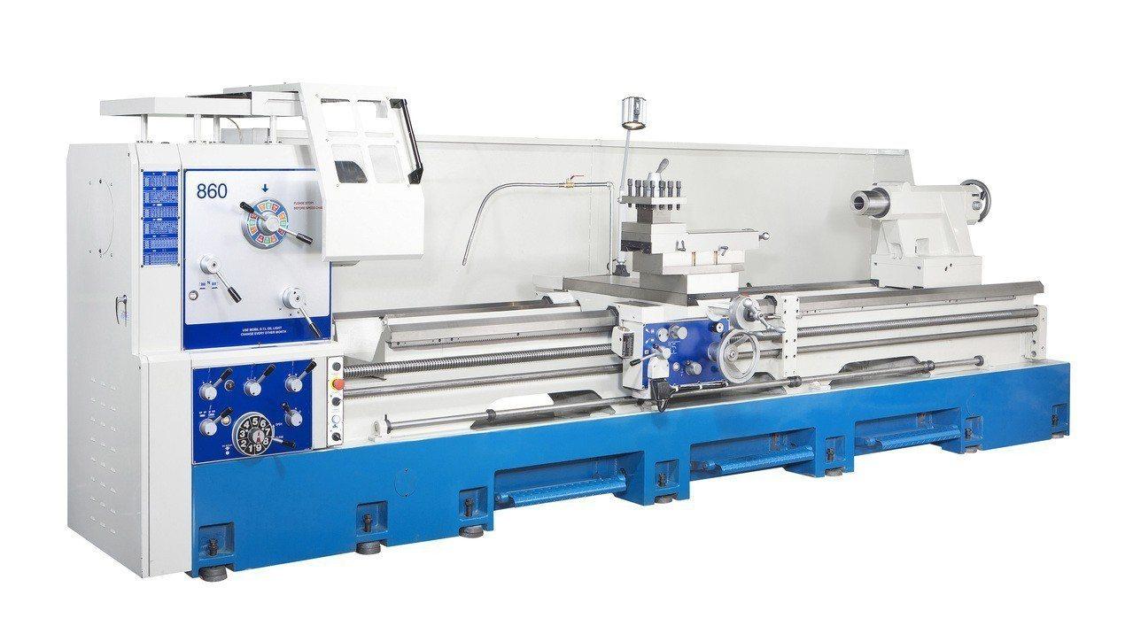 威赫科技X系強力重切削精密車床。 威赫科技/提供