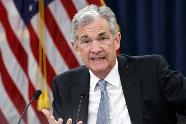 美國聯邦準備理事會(Fed)主席鮑爾 圖/張大仁