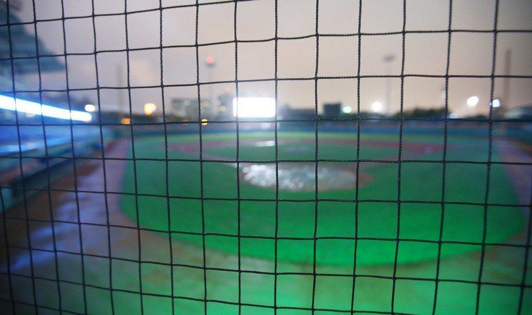 富邦悍將並邀請東京巨蛋內野護網團隊來台,裝設隱形護網。 中央社