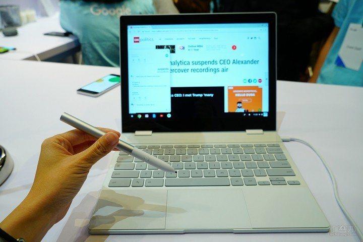 Google Pixelbook(Google筆電重現江湖,4合1變形12.3吋...